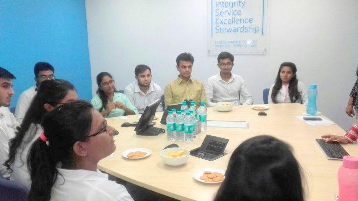 Educational Visit to Barclays Bank IITM Janakpuri New Delhi