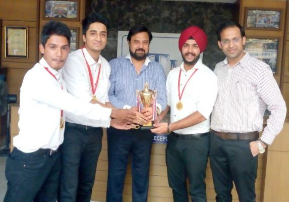 Gold Medal Winners GGSIPU Sports Meet IITM Janakpuri Delhi