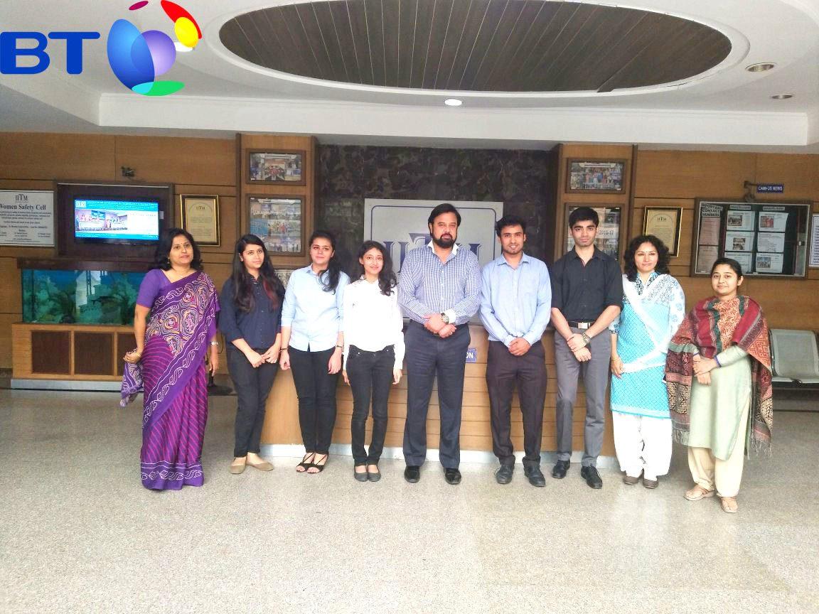 BT India Company Placements IITM Janakpuri