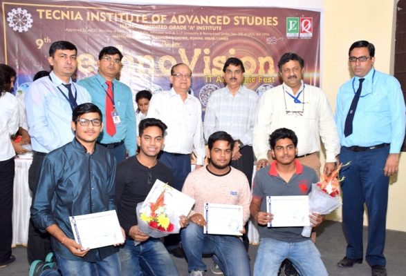 Tecnia College Winners IITM Janakpuri Delhi