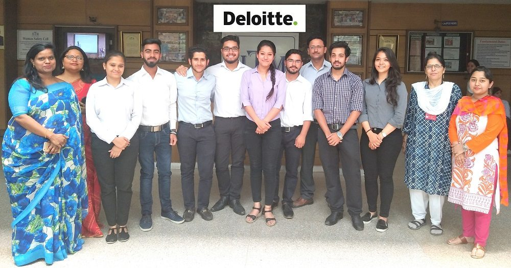 Deloitte Placament IITM Janakpuri New Delhi GGSIPU www.iitmjp.ac.in
