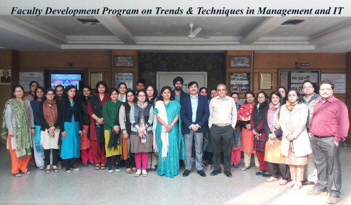 Faculty Development Program IITM Janakpuri Delhi FDP Best Top College GGSIPU BCA BBA BCOM www.iitmjp.ac.in