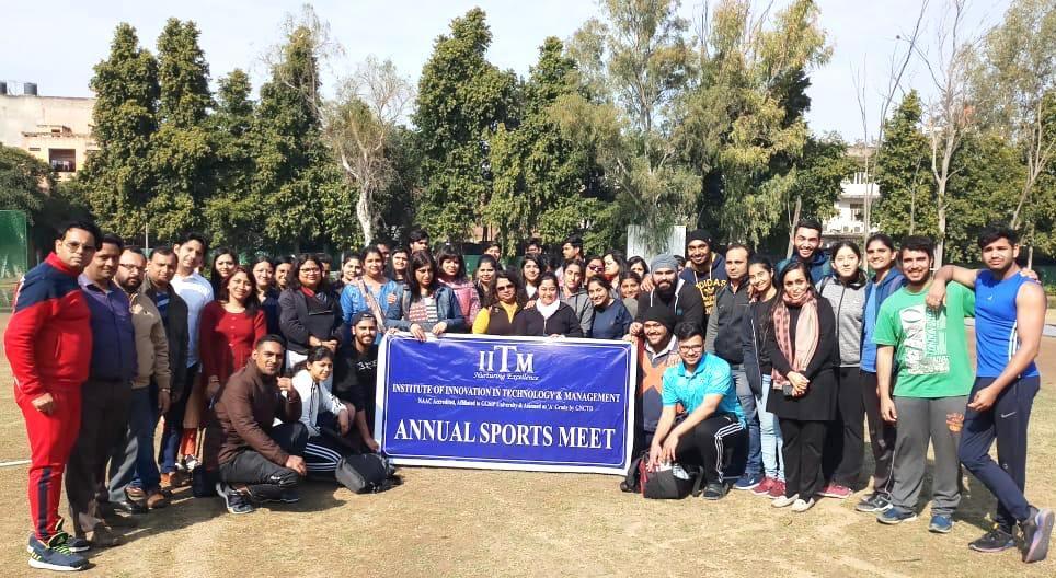 Annual Sports Day 2019 IITM Janakpuri Delhi Top Best College GGSIPU BBA BCA B.COM www.iitmjp.ac.in IITM (1)