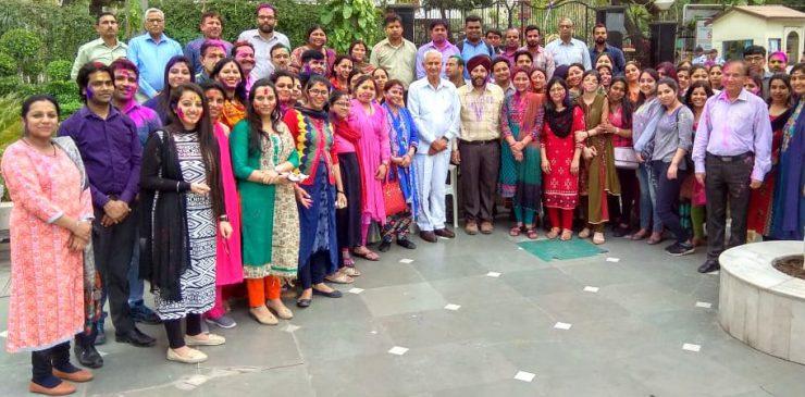 Holi Celebrations 2019 IITM Janakpuri New Delhi GGSIPU Best Top College Institute BCA BBA B.COM www.iitmjp.ac.in IITM