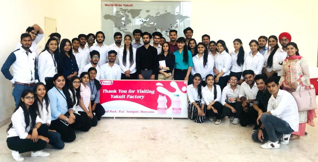 Yakult Visit IITM Janakpuri New Delhi GGSIPU Top Best College www.iitmjp.ac.in IITM (4) (1)